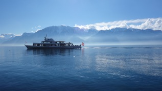 Day 74. Winter 2015. #Labri, #SwissLabriDay off ... The Vevey-Evian connection.